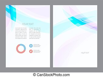 Abstract artistic soft light wave. Vector background.