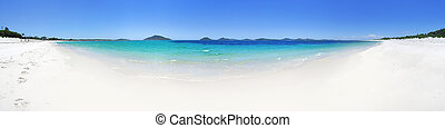 180, panorámico, vistas, De, Jimmys, playa, puerto,...