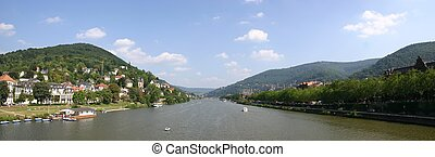 Neckar River at Heidelberg