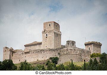 Rocca maggiore in assisi Umbria, central italy