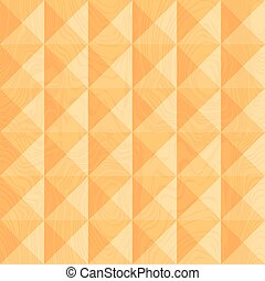 Wood carving Geometric background Seamless pattern