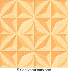 Wood carving. Geometric background. Seamless pattern.