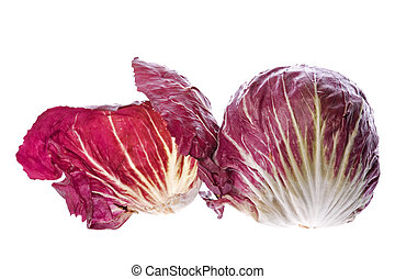 Radicchio Vegetable - Isolated image of Radicchio vegetable