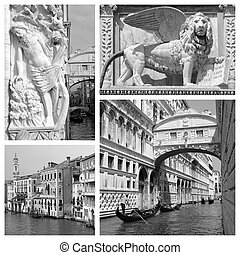 old Venice collage