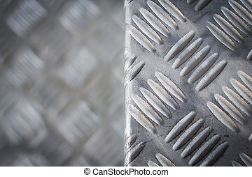 Seamless steel diamond plate texture - Photo of Seamless...