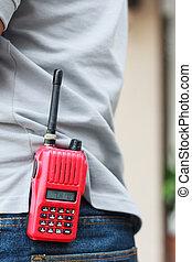 Handheld walkie talkie for outdoor - Photo of Handheld...