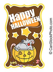 Halloween Party Graphic Banner
