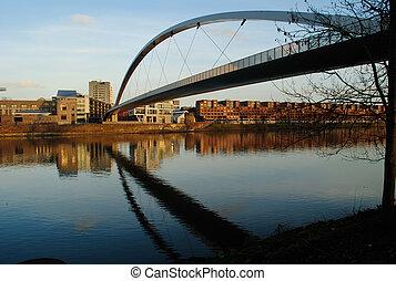 Maastricht Hoge Brug - Hoge brug Hoeg Broegk bridge over...