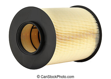 Automotive air filter - The air filter used for cleaning air...