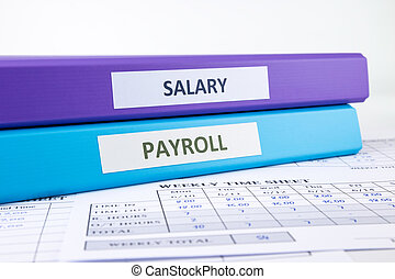Human Resources and Payroll documents - PAYROLL and SALARY...
