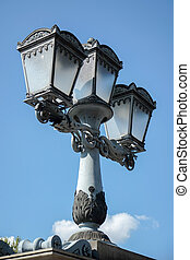 Old street light in Budapest