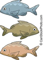 Vector fish - Creative design of Vector fish