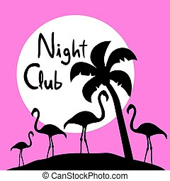 Night club symbol - Creative design of Night club symbol