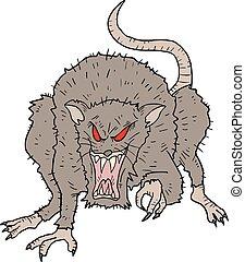 Rebel rat - Creative design of Rebel rat