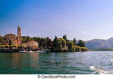 View of Lenni - View of Lenno, Lake Como, Lombardy, Italy