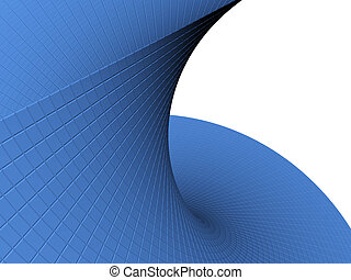 Abstract 3d object