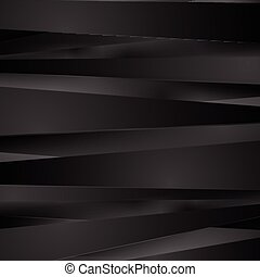 Black stripes vector background - Black stripes abstract...