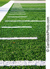 Hash marks Football Field