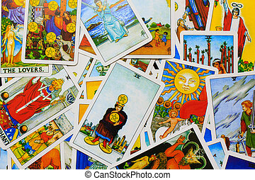 Tarot Card - A tarot astrology. Used to predict the future...
