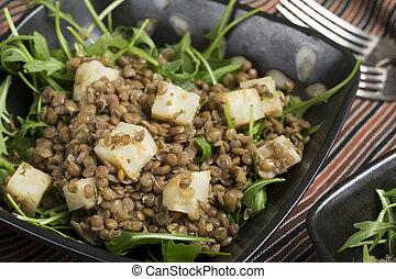 Lentil and Celeriac