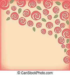 Valentine and wedding themed border