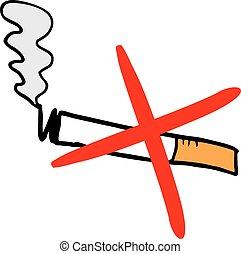 no smoke - Creative design of no smoke