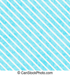 Teal and White Striped Pattern Repeat Background that is...