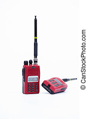 Walkie Talkie, handheld transceiver, HT, two-way radio