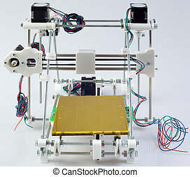 3D Printer Assembly - Assembling the Open Source 3D Printer...