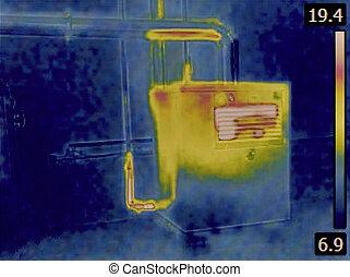 Heat Distribution Detection
