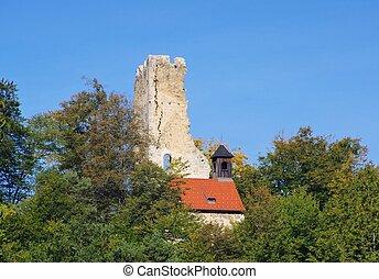 Wolfstein castle