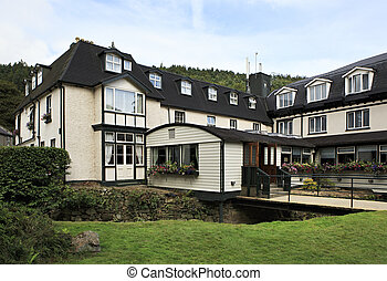 Hotel in Wicklow Mountains National Park. - Hotel in the...