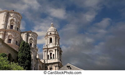 Cathedral of Malaga,southern Spain - Cathedral of Malaga is...