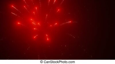 4K, Fireworks, New Years Eve - Beautiful, sharp and clean...