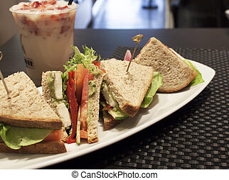 Healthy Veggie Sandwich