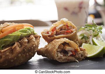 Seafood empanadas - Seafood empanadas
