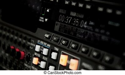Professional video recorder. Format Betacam. Timecode...