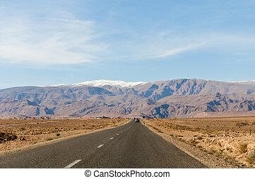 High Atlas Mountains at Morocco