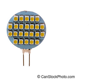 Led light - 12 volt Led light warm color with protection