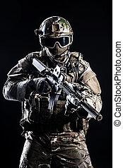 especiais, forças, soldado,