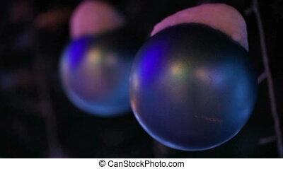 Christmas toys ball