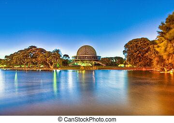 Buenos Aires Planetarium building - Buenos Aires Galileo...