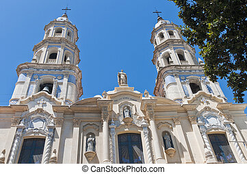 San Pedro Telmo church at Buenos Aires - San Pedro Telmo...