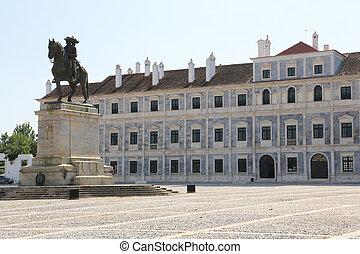 Vila Vicosa - The Ducal Palace of Vila Vicosa in Portugal