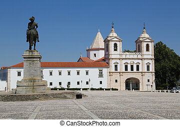 Vila Vicosa - The Ducal Palace of Vila Vicosa in Portugal