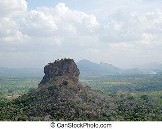 around Sigiriya - sunny impression around Sigiriya, a...
