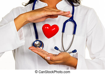 internist with heart