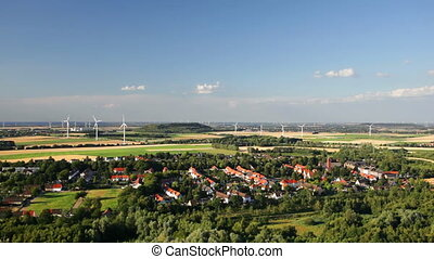 West German Wind Energy Landscape