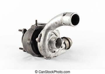 Turbo - the silver turbo of the combustion engine