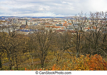 Brno skyline view. - Brno skyline view, Czech Republic